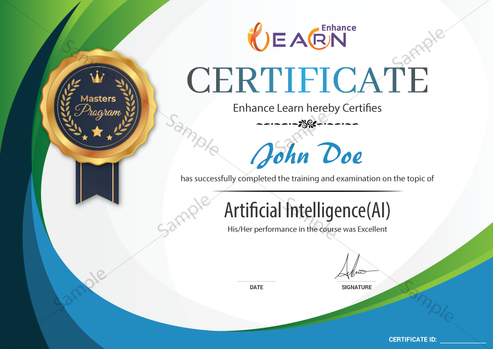 Artificial Intelligence and Deep Learning Certificate